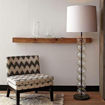 Isla Mercury Glass Floor Lamp I Horchow
