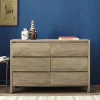 Storage Furniture - Boerum 6-Drawer Dresser | west elm - solid, mango, wood, dresser, drawer, country, rustic, natural