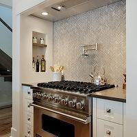Veranda Interiors - kitchens - herringbone tiles, herringbone tile backsplash, herringbone kitchen backsplash, herringbone cooktop backslash, herringbone cooktop tiles, herringbone kitchen backsplash, herringbone kitchen tiles, silver herringbone tiles, silver herringbone tile backsplash, silver herringbone kitchen backsplash, silver herringbone cooktop backslash, silver herringbone cooktop tiles, silver herringbone kitchen backsplash, silver herringbone kitchen tiles, kitchen alcove, cooktop alcove, stove alcove, herringbone backsplash, silver herringbone backsplash, kitchen herringbone backsplash, herringbone kitchen backsplash,