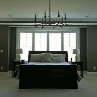 master bedroom - bedrooms - bow window, restoration hardware,  master bedroom
