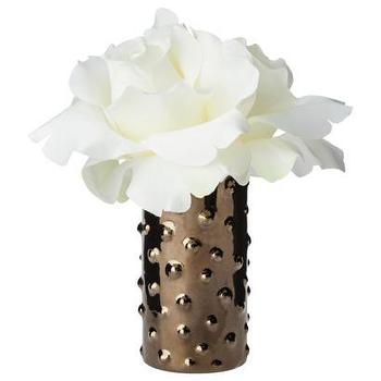 Decor/Accessories - Faux Tabletop Plant I Target - faux, rose, metallic, vase,