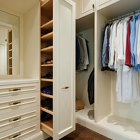 Sutro Architects - closets: walk-in closet, closet shoe shelves, shoe shelves, shoe shelf drawer, closet shoe shelf drawer, pull-out drawer, shoe shelf pull-out drawer, walk-in closet shoe shelves, walk-in closet shoe drawer, closet shoe drawer, pull-out shoe drawer, ivory closet cabinets, built-ins, built-in cabinets, ivory built-ins, ivory built-in cabinets, closet, built-ins, closet built-in cabinets, ivory closet built-ins, ivory closet built-in cabinets, shoe cabinets, closet shoe cabinet, sliding shoe cabinet,