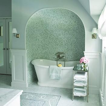 Bathtub Alcove, Transitional, bathroom, Courtney Hill Interiors