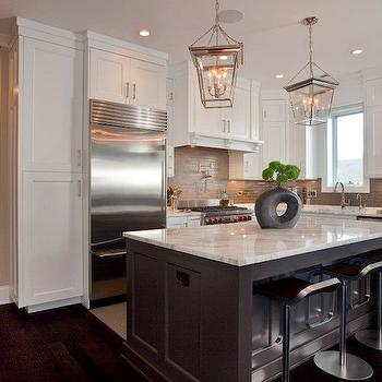 2 Tone Kitchen, Transitional, kitchen, Michael Abrams Limited