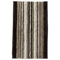 Decor/Accessories - Threshold Striped Bath Rug I Target - striped, bath, rug, mat, brown, neutral, cream,