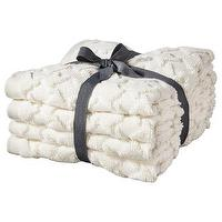 Decor/Accessories - Threshold Embellished Towels I Target - cream, ivory, bath, towels, jacquard