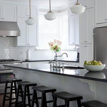 Absolute Black Granite, Traditional, kitchen, Beth Haley Design