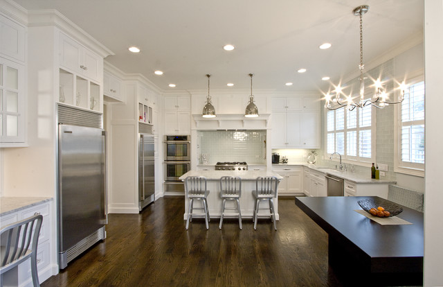 White Kitchen Design Transitional Kitchen Oxford
