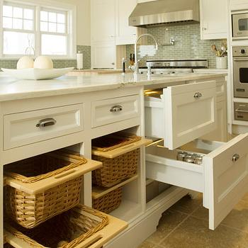 Kitchen Island Storage, Transitional, kitchen, Bakes and Company