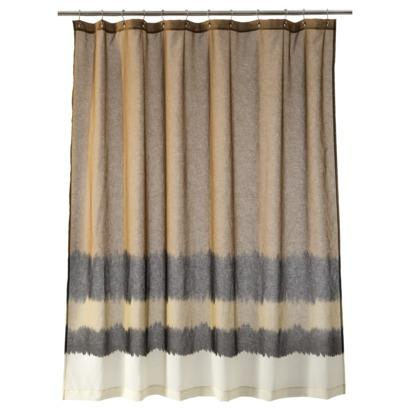 Nate berkus dip dyed shower curtain target - Target bathroom shower curtain sets ...