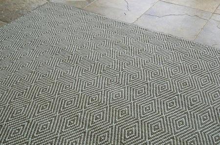 Dash and albert diamond indoor outdoor rug look 4 less for Dash and albert indoor outdoor rugs