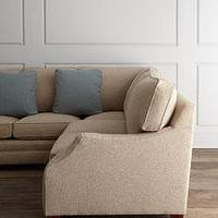 "Seating - ""Tate"" Sectional - Horchow - neutral, biege, sectional,"