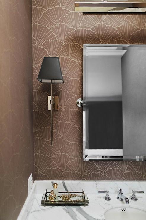 Rectangular Pivot Mirror Contemporary bathroom