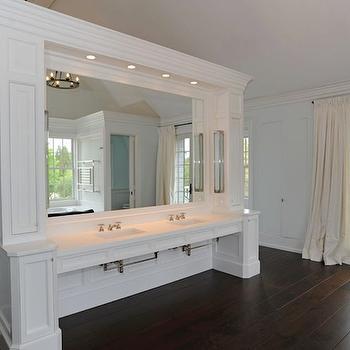 bathrooms - huge master bath, huge master bathroom, chic master bathroom, bathroom french doors, bathroom hardwood floors, silk pinch-pleat drapes, bathroom silk drapes, double bathroom vanity, master bathroom bathroom vanity, double sinks, white bathroom vanity, white double bathroom vanity, master bathroom sinks, master bathroom washstands, marble countertops, master bathroom countertops, iron candelabra, master bathroom candelabras, master bathroom chandelier, master bathroom lighting, double vanity, double vanity ideas, double bathroom vanity, double bathroom vanities, white bathroom vanity, white bathroom vanities, white double vanity, white double vanities, white double bathroom vanity, white double bathroom vanities,