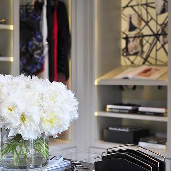 Walk In Closet Shelves, Contemporary, closet, Catherine Kwong Design