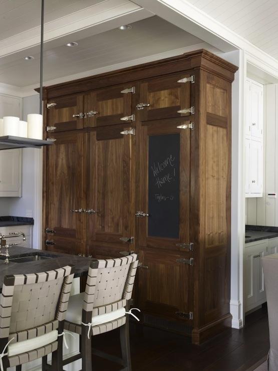 Distressed Kitchen Cabinet  Contemporary  kitchen  Hickman Design