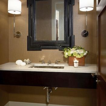 Floating Vanity, Contemporary, bathroom, Hickman Design Associates