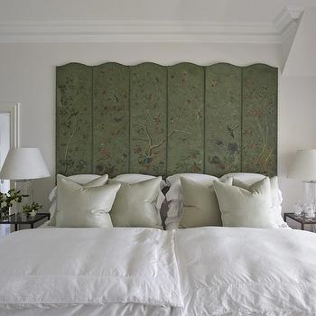 Chinoiserie Headboard, Transitional, bedroom, Marco Meneguzzi