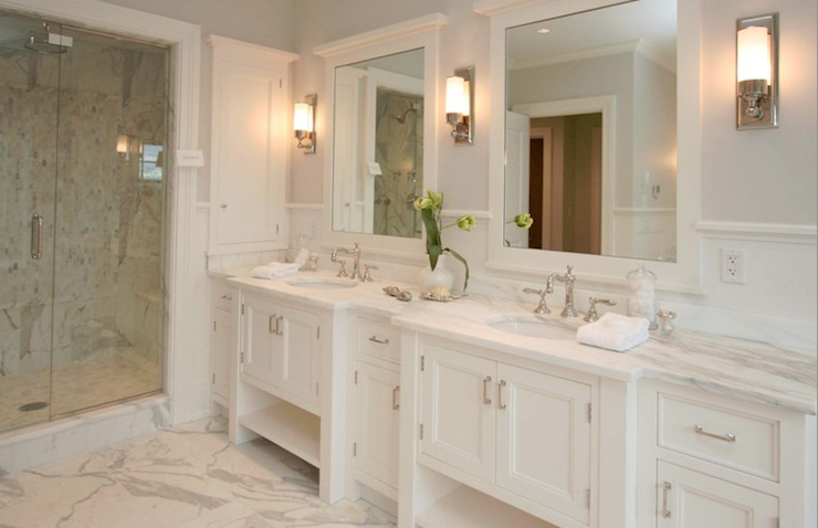Double vanity ideas traditional bathroom milton Double vanity ideas bathroom