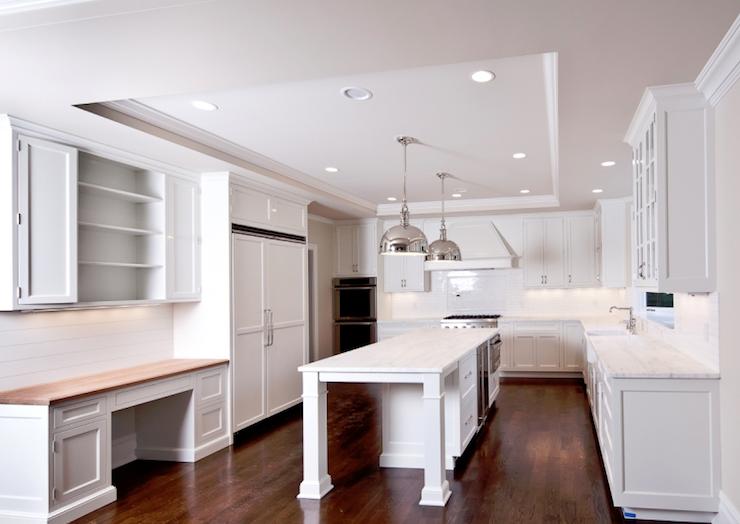 White kitchen transitional kitchen milton development
