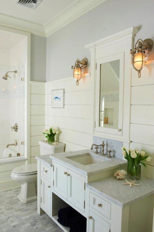 Cottage Bathroom Cottage Bathroom Jillian Klaff Homes