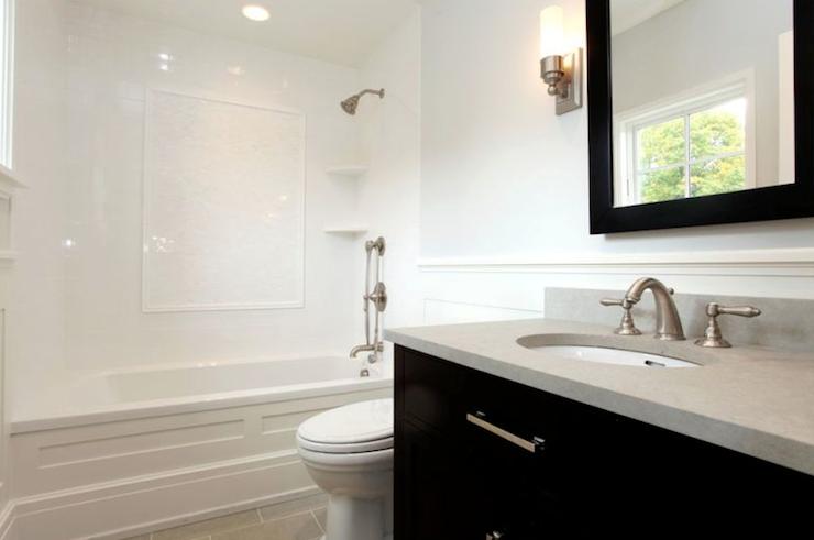 Black Bathroom Vanity Contemporary Bathroom Milton