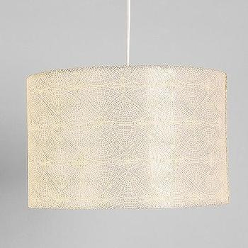 Embroidered Pendant Shade, Urban Outfitters