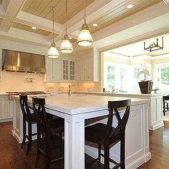 Black Counter Stools, Traditional, kitchen, Jillian Klaff Homes
