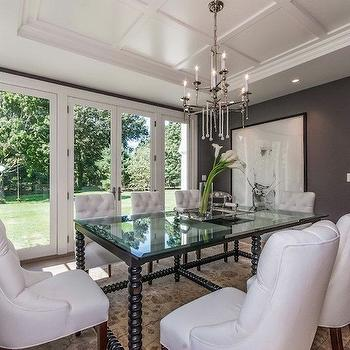 Tray Ceiling, Transitional, dining room, Milton Development