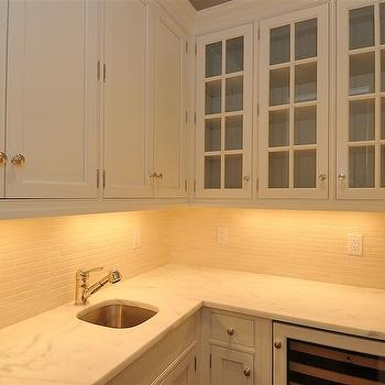 L Shaped Butler's Pantry, Traditional, kitchen, Jillian Klaff Homes