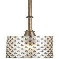 Lighting - Regatta Pendant design by Currey & Company | BURKE DECOR - capiz, shell, pendant, light,