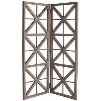 Decor/Accessories - ARTERIORS Home Nelson Solids Room Screen | Wayfair - walnut, gray, washed, room, divider, screen,