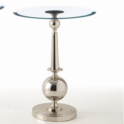 Home Decor On Tables Arteriors Home Arden Side Table In Polished