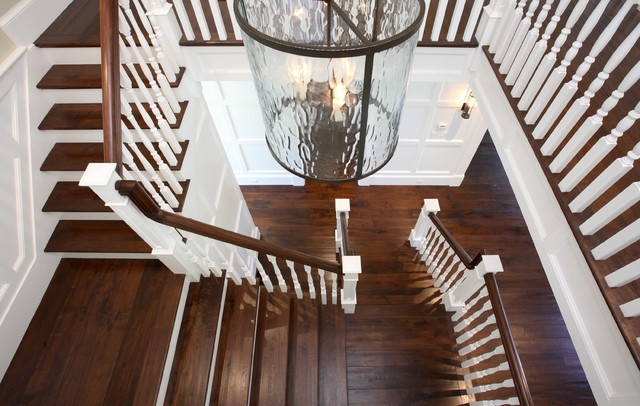 Traditional Staircase Traditional Entrance Foyer