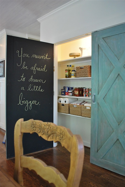 Chalkboard Pantry Door Home Depot