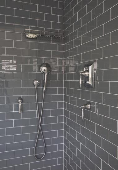 Brilliant Grey Subway Tile Bathrooms Bathroom Design Bathroom Color Gray