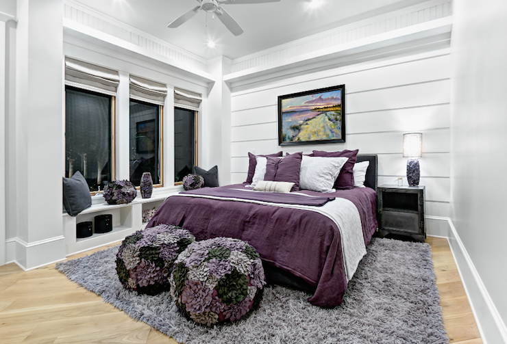 Purple and gray girl 39 s room contemporary girl 39 s room - Purple and gray room ideas ...