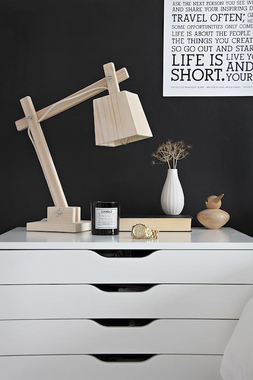 Ikea Alex Drawer Unit Contemporary Bedroom Stylizimo