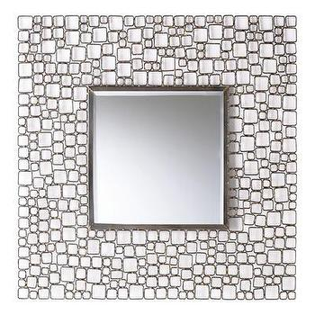 Mirrors - ARTERIORS Home Darren Iron Mirror | Wayfair - modern, mirror, iron, square,