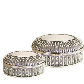Decor/Accessories - High Street Market - Silver Plated Urchin Box - silver, plated, urchin, jewelry, box,