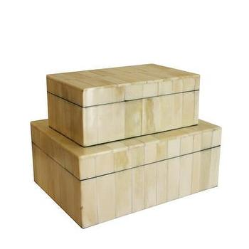Decor/Accessories - High Street Market - Bone Clad Storage Box - bone, clad, jewelry, box,