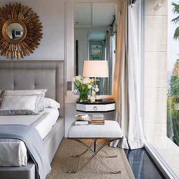Wall-Mounted Nightstand, Transitional, bedroom, Nuevo Estilo
