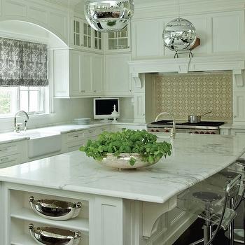 Lucite Bar Stools, Transitional, kitchen, Lynne Scalo Design