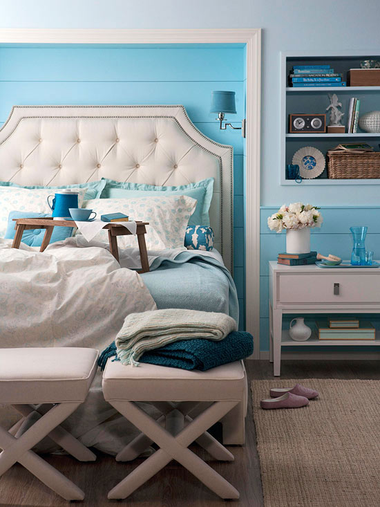 Ethan Allen Upholstered Beds - Contemporary - bedroom - BHG