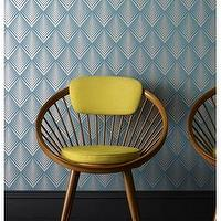 Wallpaper - Blue Geometric Wallpaper - Graham & Brown - geometric, teal, blue, metallic, wallpaper,