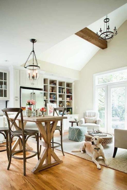 Hundi Lantern Transitional Living Room Terracotta