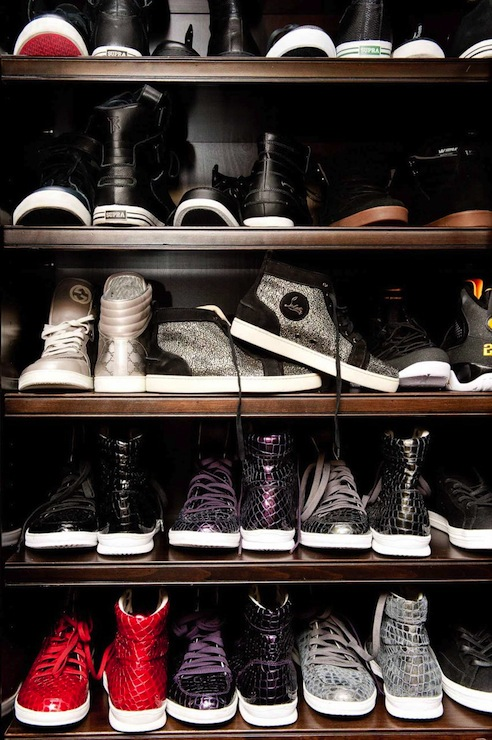 how to build a shoe closet
