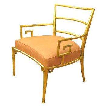 Pair of Asian armchairs, John Salibello