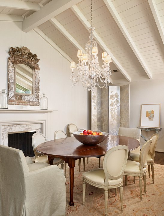 Fireplace In Dining Room French Dining Room Dillon
