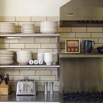 Stainless Steel Countertops, Vintage, kitchen, Dehn Bloom Design
